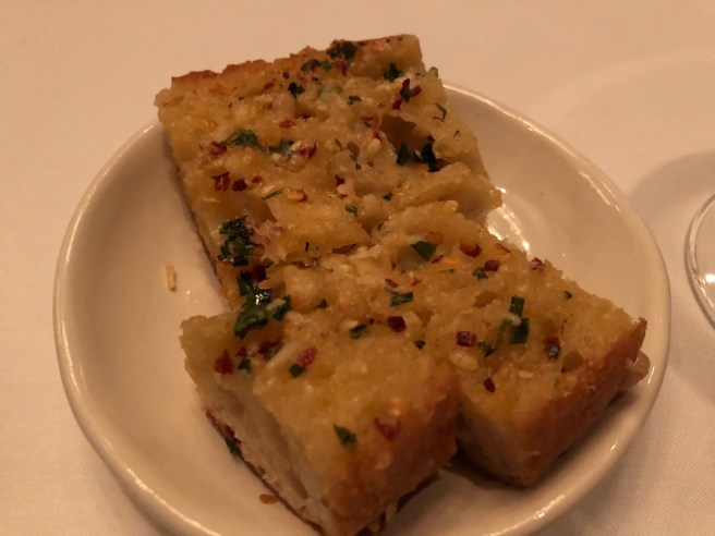 garlic foccacia