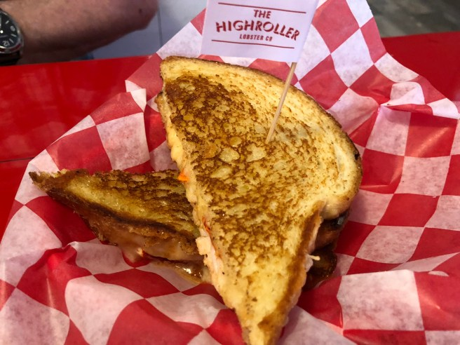 grilled cheese with lobster