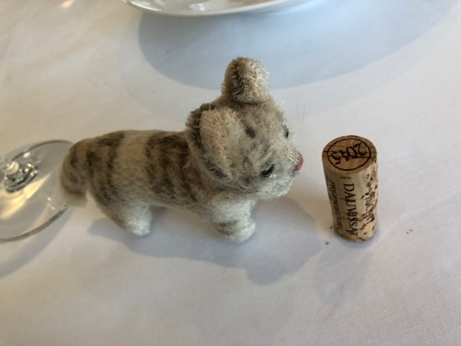 Frankie played with the cork