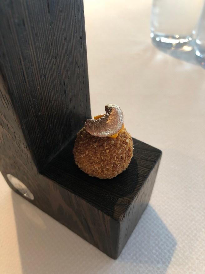 Amsterdam: Bitterbal, parsnip and tandoori