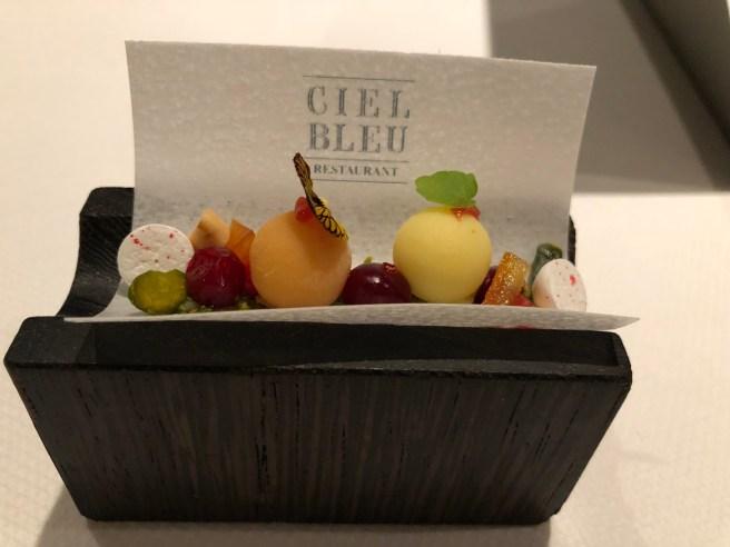 Pre dessert: flavours of nougat de Montélimar