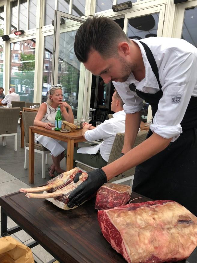 meat cut tableside