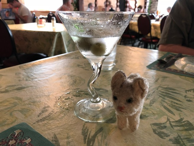 Frankie liked the martini