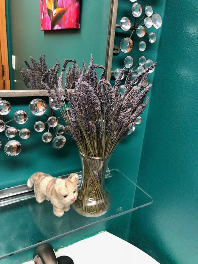 Frankie found dried flowers