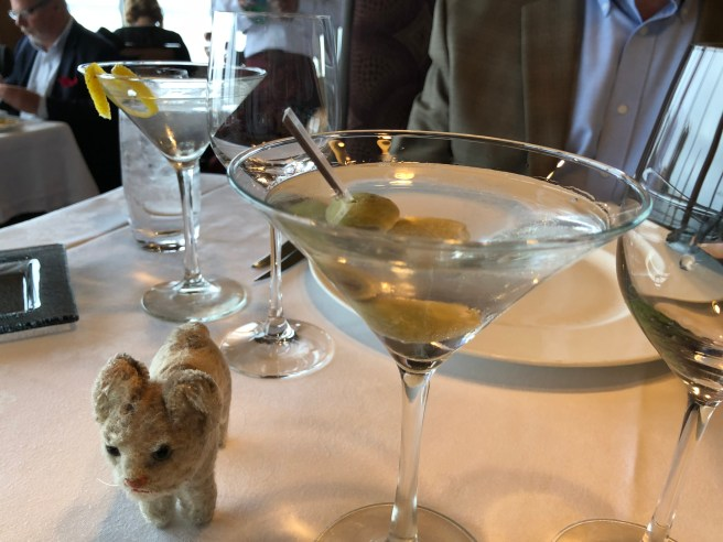 Frankie and the martinis