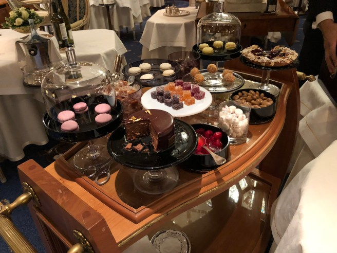 dessert trolley