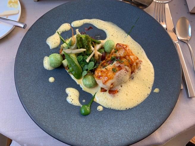 Breton Monkfish, Tomato, Gnocchi, Saffron