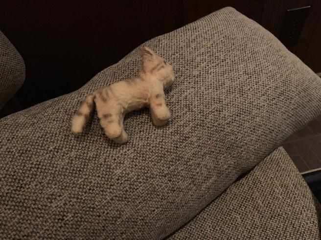 Frankie took a nap