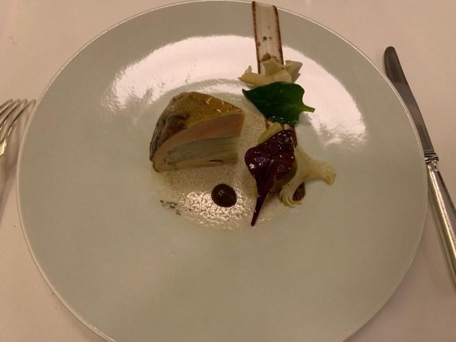 Artichokes and Foie Gras