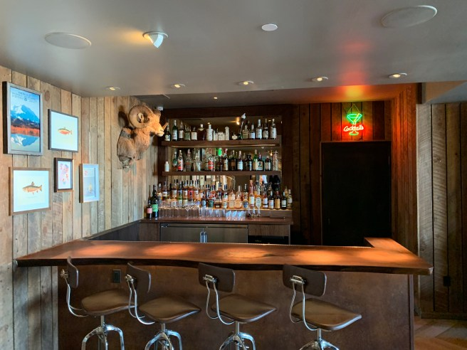 bar in second room
