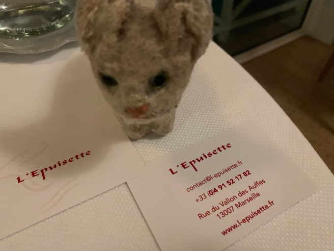 Frankie shared the restaurant details