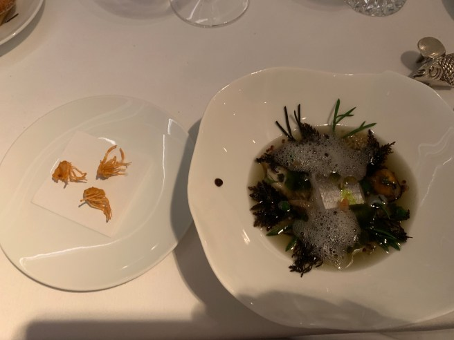 My Sea Garden and fried shrimp heads