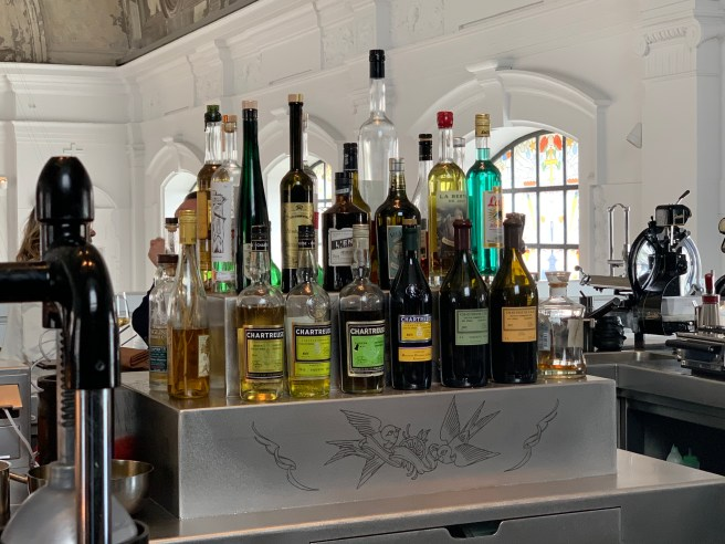 a big selection of chartreuse