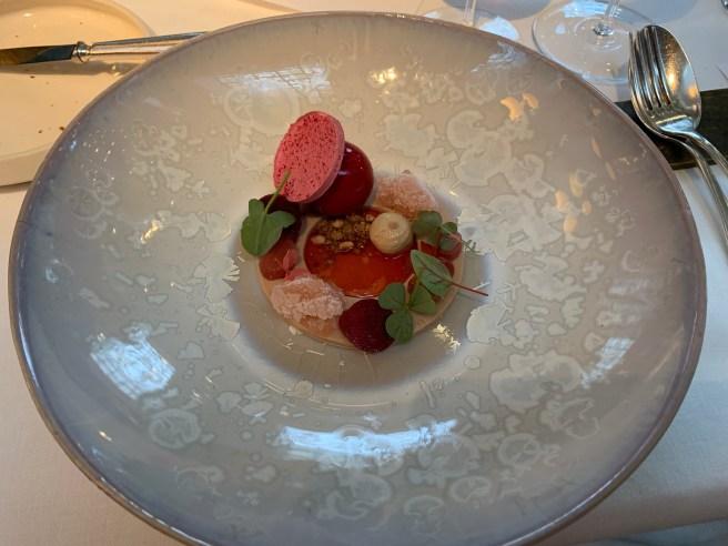 foie gras, rhubarb, hazelnut, annko-hoshiko