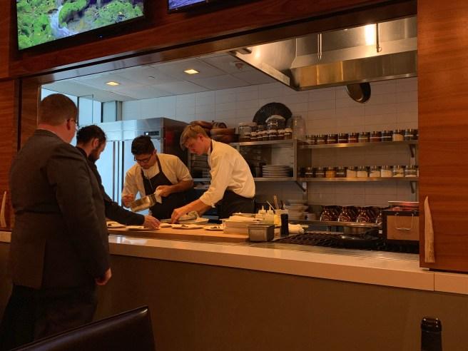 chef's plating
