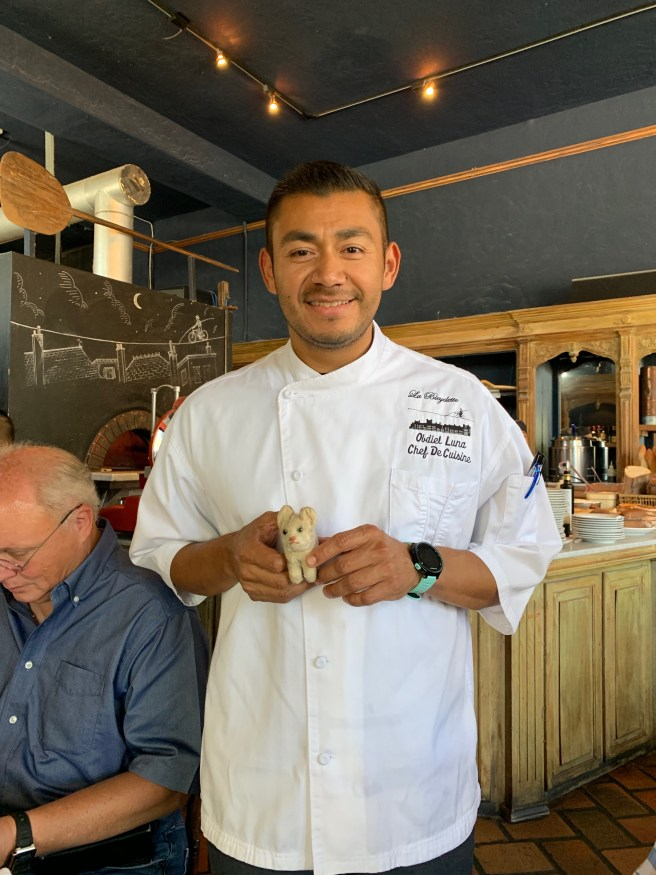 Chef De Cuisine Obdiel Luna and Frankie