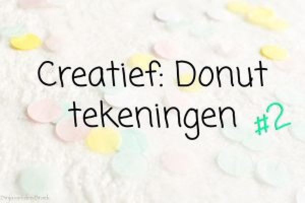 Donut tekeningen