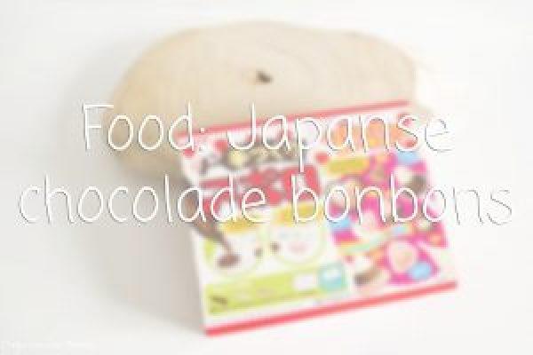 Japanse chocolade bonbons