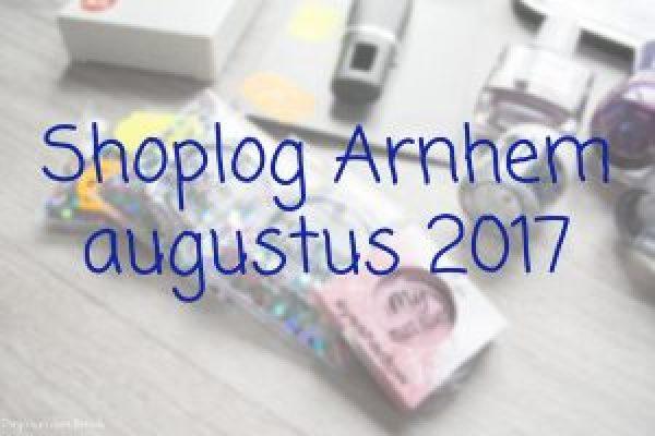 Shoplog Arnhem augustus