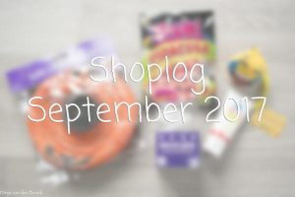 Shoplog September 2017