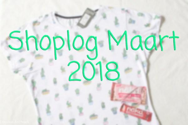 Shoplog Maart