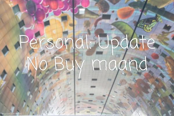 No Buy Maand