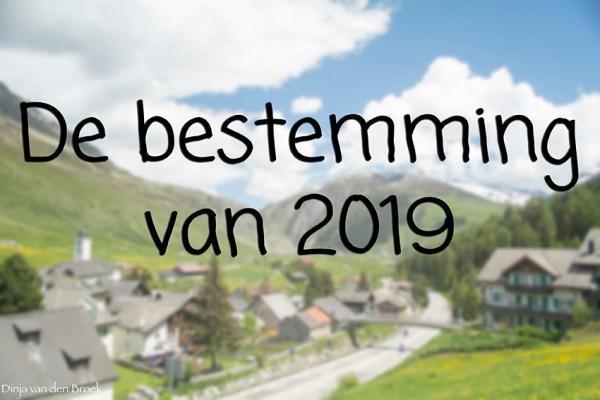 Bestemming van 2019
