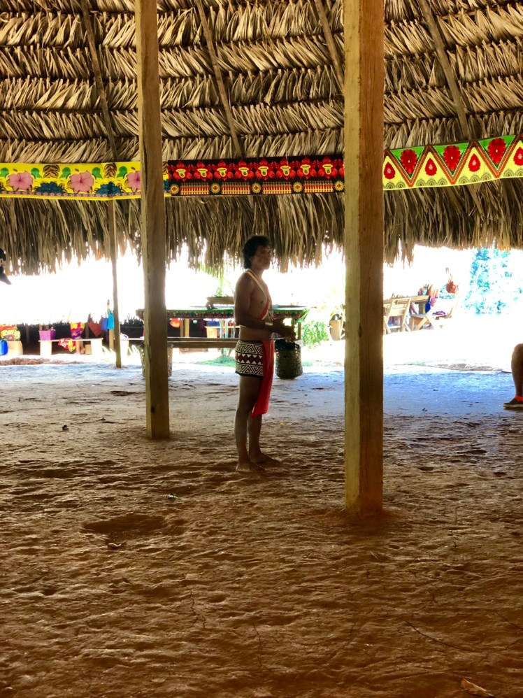 Embera Tribe member introduced us to the tribe's traditional lifestyle