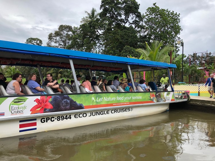 Tortuguero Canals in Costa Rica are best explored by a boat