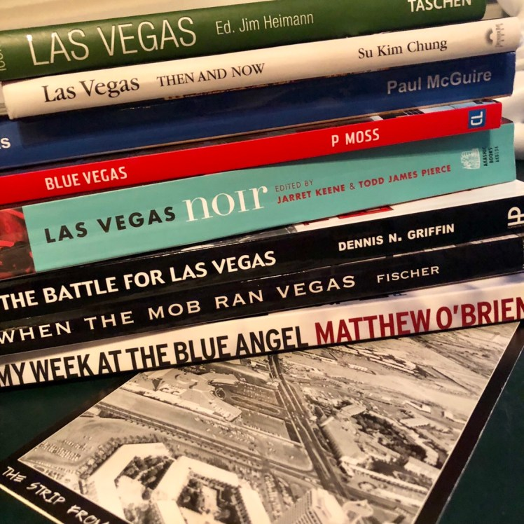 We collect books of Las Vegas