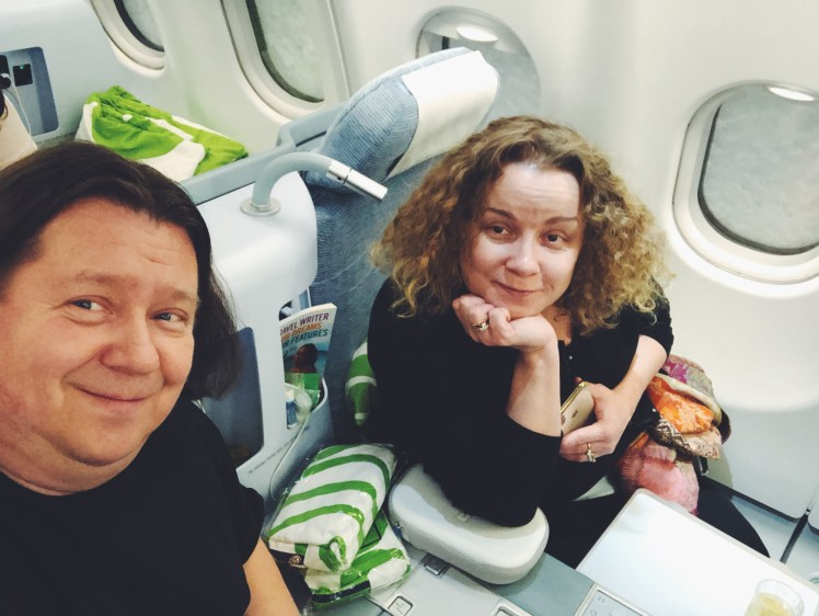 DINKgo travels to MIA in Finnair Business Class