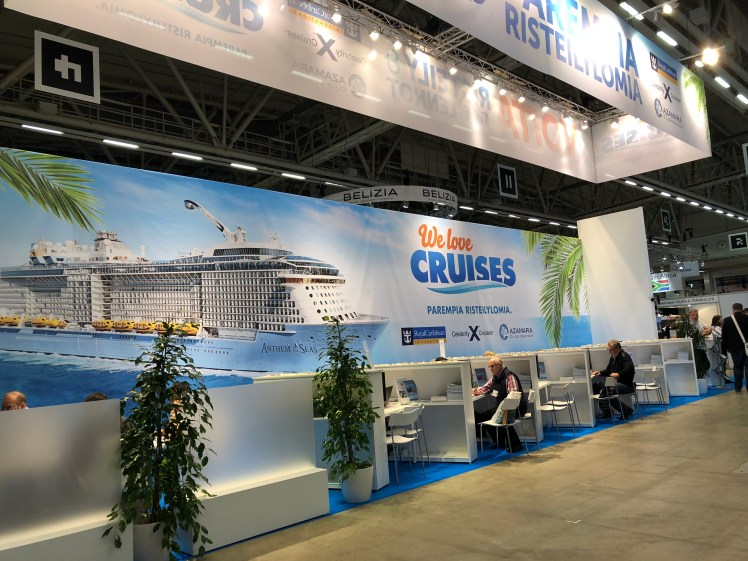 Cruise dreaming at MATKA Travel Fair