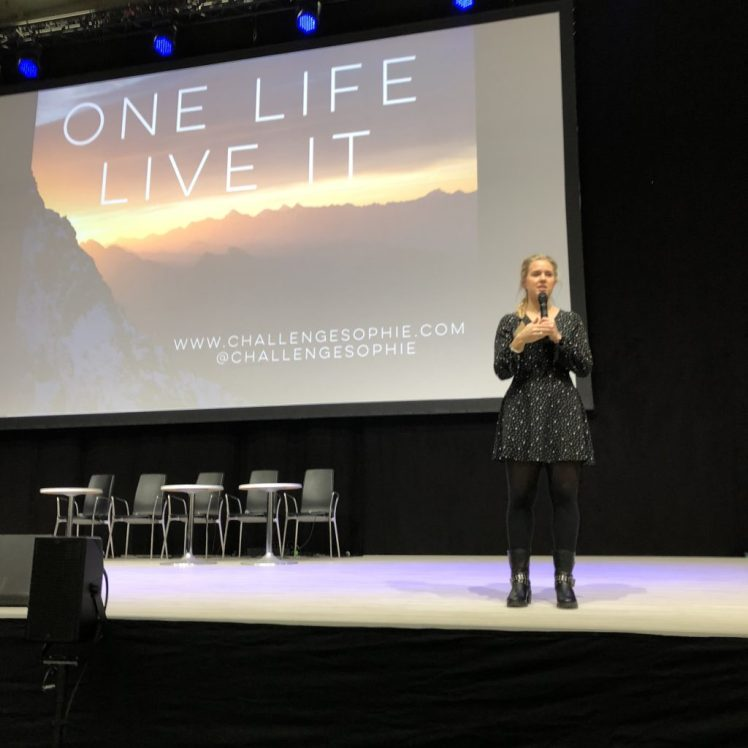 MATKA Travel Fair offered awesome keynotes like Sophie Radcliffe of Challenge Sophie