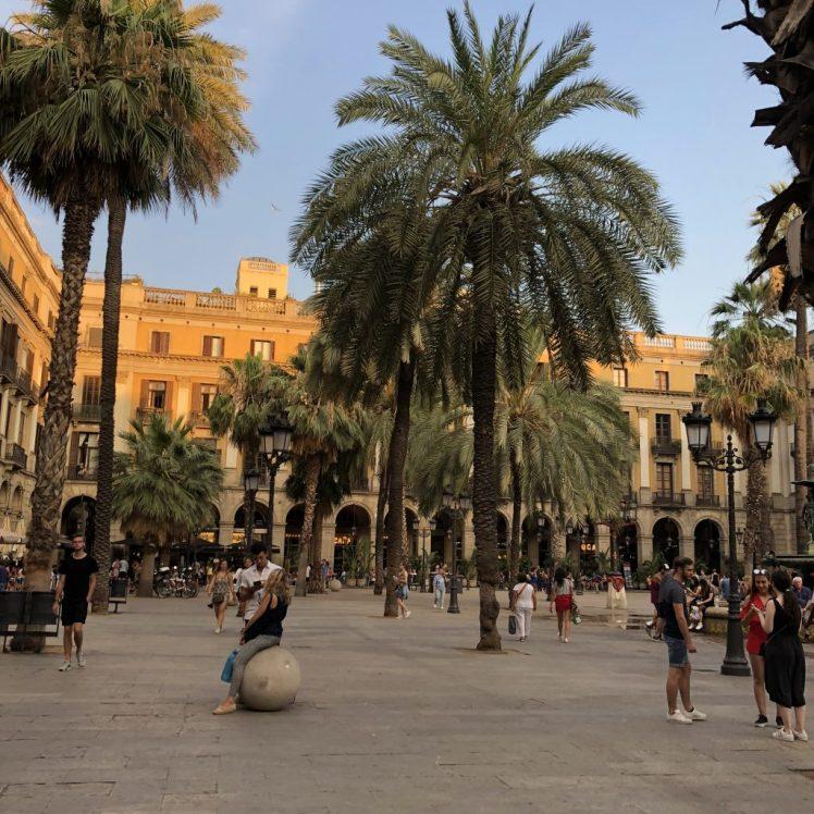 Place Reial, Barcelona