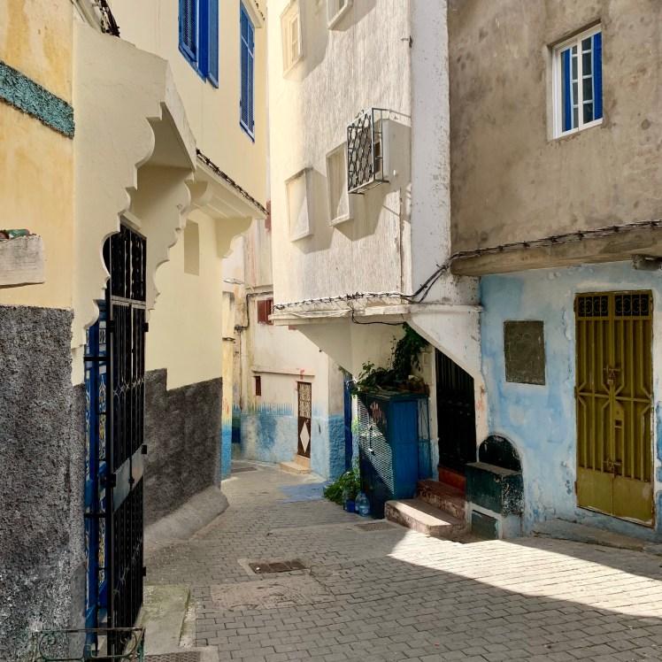 Narrow Alleys of Medina, Morocco