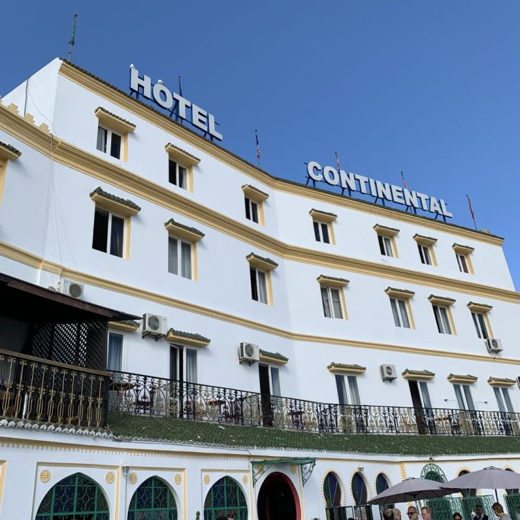 Hotel Continental, Tangiers is a classic