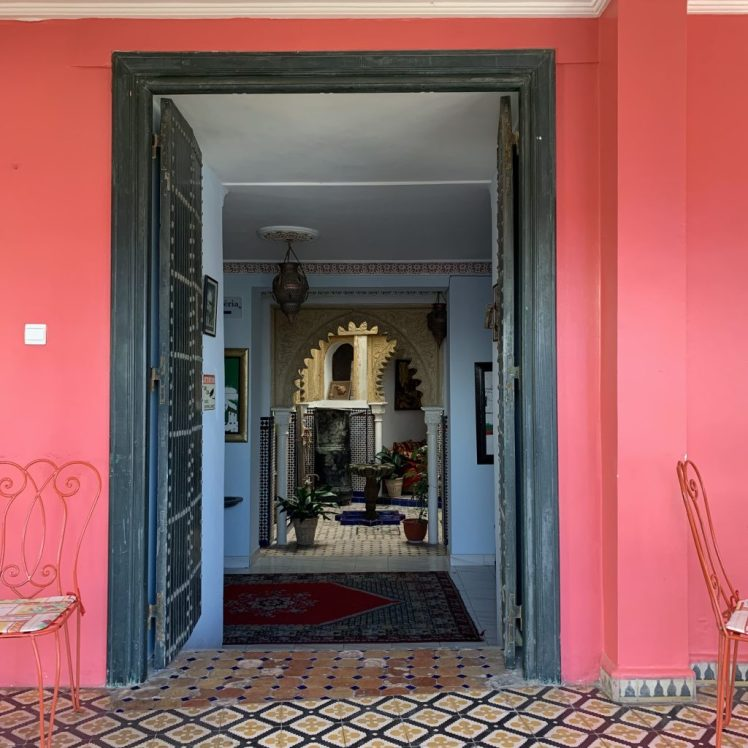 Old world vibes at Hotel Continental in Tangier