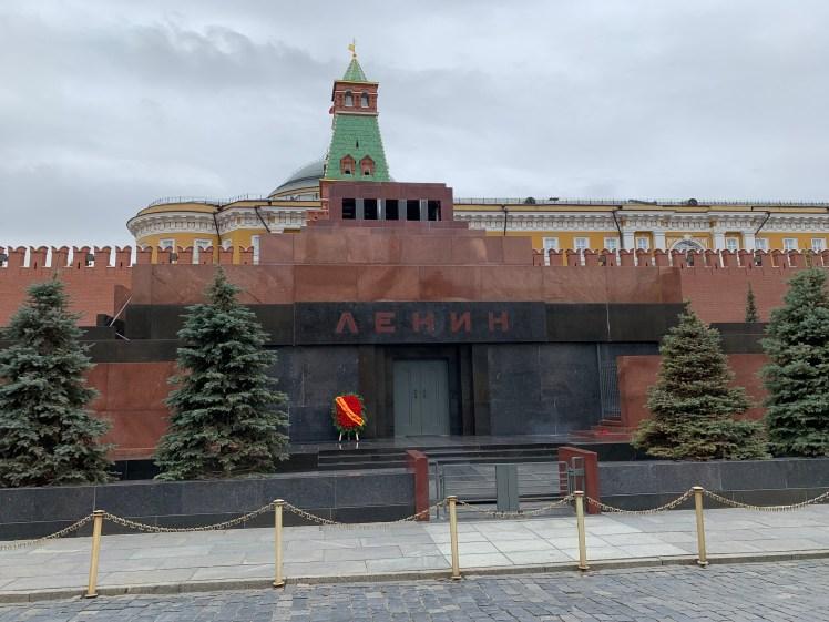 Lenin's Mauseleum Red Square