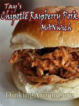chipotleraspberryporkwiches