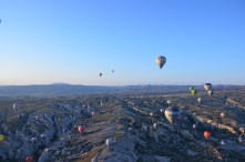 Hot air ballooning in Cappadocia