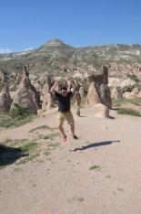 Zelve Open Air Museum in Goreme, Cappadocia