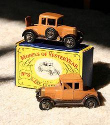 Voitures miniatures Matchbox