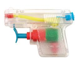 Le pistolet à eau