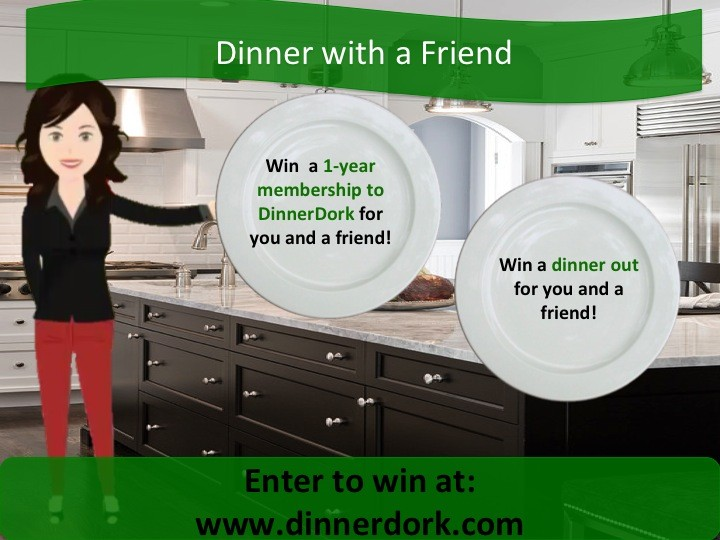 Dinner with a friend banner