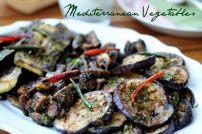 Marinated Aubergines, Zucchini & Mushrooms