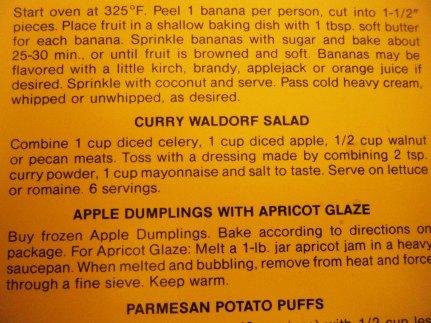 curry waldorf salad recipe