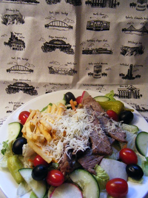 Leftovers! Pittsburgh-Style Prime Rib Salad