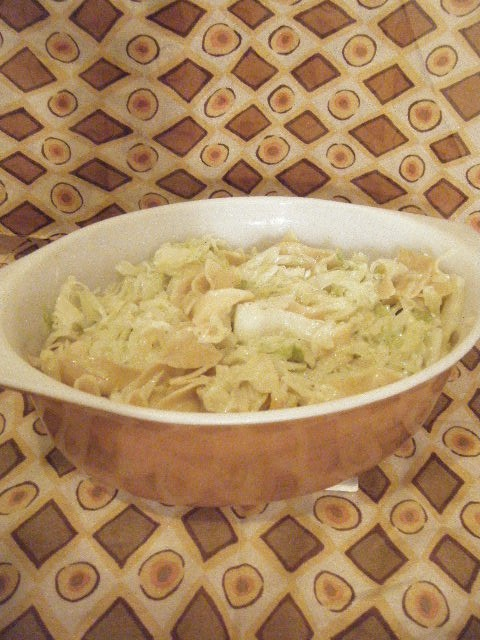 Haluski (Polish Sweet Cabbage and Noodle)