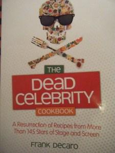 Dead Celebrity Cookbook