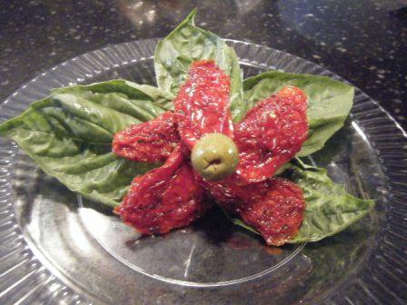 sun-dried tomato flower
